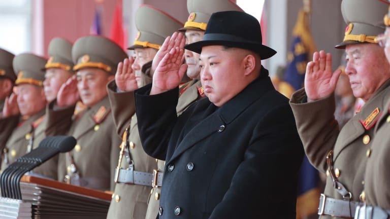 North Korean leader Kim Jong-un has agreed to give up his nuclear arsenal in return for a security guarantee from the United States.