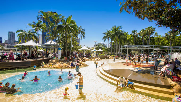 Brisbane exceeded its predicted maximum of 35 degrees on Saturday and Gatton reached almost four degrees above the expected top temperature.