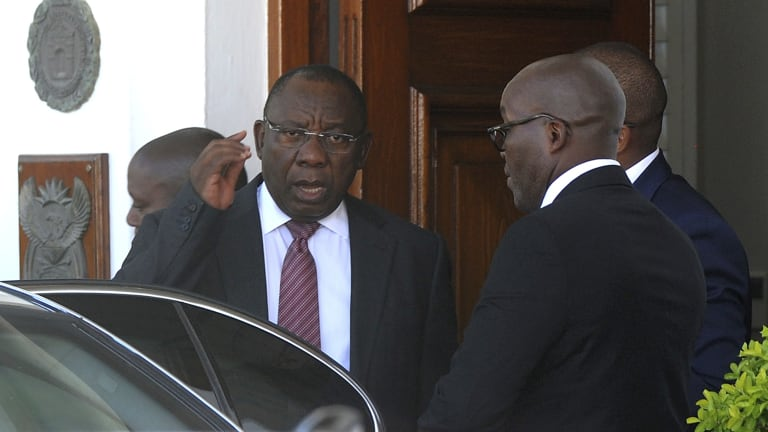 South African Deputy President Cyril Ramaphosa is said to have tipped the balance of power within the ANC.