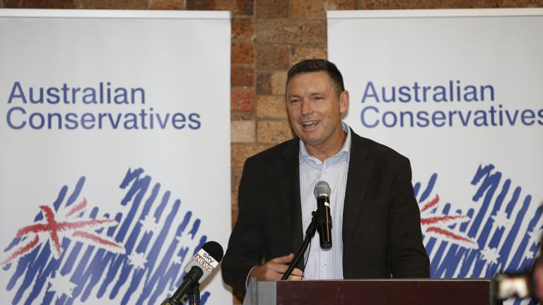 Lyle Shelton announced he has taken on a new role as the Australian Conservatives' federal communications director.