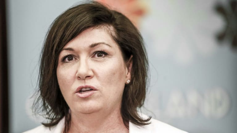 Environment Minister Leeanne Enoch has hit out at the NSW government after revelations of recycling waste being dumped as landfill in Queensland.