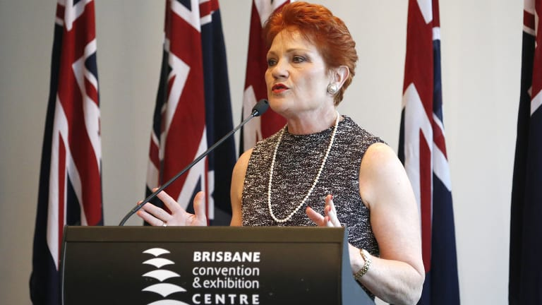 No, Queensland voters, Pauline Hanson is not up for election in November.