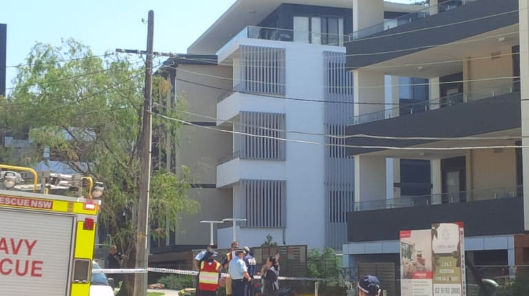 The apartment complex in Epping where the fire occured.