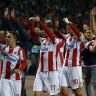Milos Degenek's Red Star seal shock 2-0 win over Liverpool