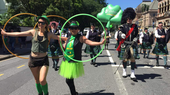 Grand parade to be sure this St Patrick's Day in Brisbane