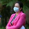 100,000 Queenslanders have jab as Premier awaits update on aged care death