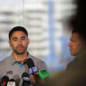 Shaun Johnson and the one thing that has stood out to him at the Sharks