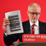 Labour borrows a play from Bill Shorten's handbook to fight election