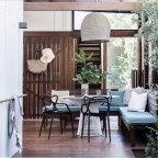 Shaun Lockyer's Straddie shack can comfortably house up to eleven people.