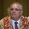 Prime Minister Scott Morrison on his recent trip to Fiji.