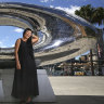 Sydney's newest public sculpture captures the light of a dying star
