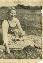 Austrian-born Gundula Feldner in pre-war years.