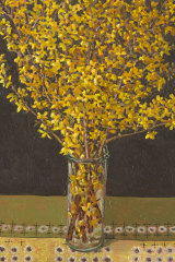 Forsythia by Lucy Culliton (2018).