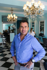 Devastating: Joh Bailey is in isolation after his Double Bay salon became the latest victim of COVID.