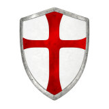 The cross is associated with the Crusades, a series of religious wars between Christians and Muslims.