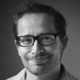 TV writer Peter Cox.