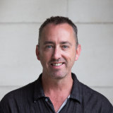 Geelong Gallery artistic director Jason Smith.