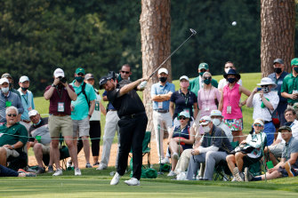 Crowds are back at Augusta National.