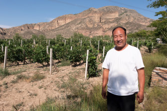 The day Australian winemakers arrived at one particular Chinese vineyard