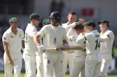 The Ashes: England all out for 67 as Aussie quicks run rampant