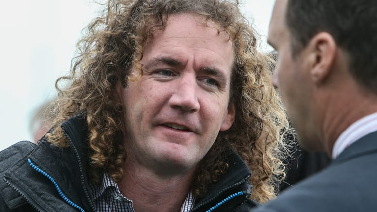 Ciaron Maher's suspension is about to finish.