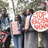Hundreds of African Australians rally against 'racist' reporting