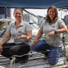 More than a race for Melbourne to Hobart's first female duo
