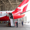 Qantas cuts international capacity by 90 per cent until end of May