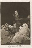 Francisco Goya, What a golden beak!, 1797–98.