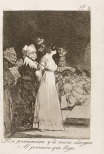 Francisco Goya, They say yes and give their hand to the first comer, 1797–98.