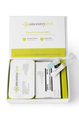 Ancestry DNA testing kits are popular Christmas gifts.