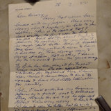 A 1955 letter written by William Dobell to friend and fellow artist E.A. Harvey has been donated to the National Library of Australia.