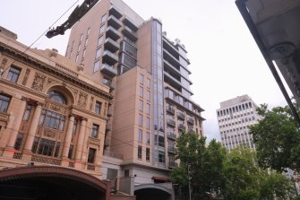 The Westin Melbourne in Collins Street.