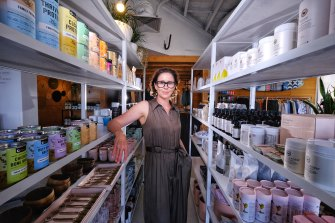 Kellie Langeliers is preparing for a busy few months at her business, Plover Wellbeing.