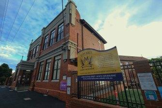 St Michael's Primary School in North Melbourne.