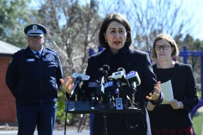 Ms Berejiklian said NSW remains open to every state except Victoria.