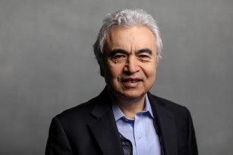 International Energy Agency executive director Fatih Birol.