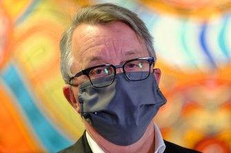 Health Minister Martin Foley on Friday.