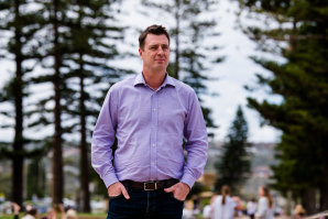 Northern Beaches mayor Michael Regan says businesses are concerned about an influx of outsiders.