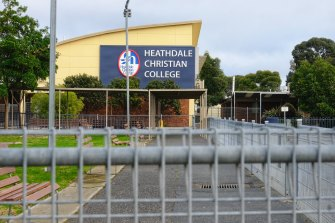 Heathdale Christian College announced a year 6 student had tested positive for COVID-19.