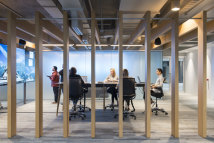 Reimagined CBD workspaces will be smaller and allow more collaboration between employees.