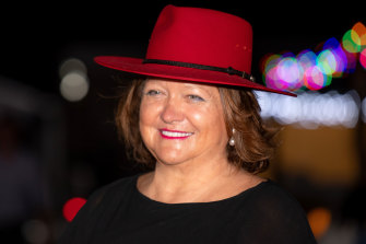 Gina Rinehart's wealth is estimated at $35.6 billion.