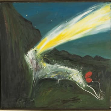 Protected in new home: Boyd's iconic Nebuchadnezzar Being Struck by Lightning.