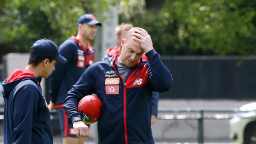 Melbourne coach Simon Goodwin believes the cancelled training camp was an opportunity lost.