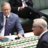 This is a knife fight that Scott Morrison can't win