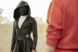 "Regina King as Detective Angela Abar - aka ""Sister Night"" - in Watchmen."