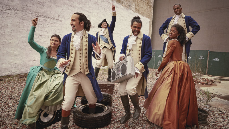 'Our own form of protest': How linking hip-hop and history turned Hamilton into a surprise hit musical