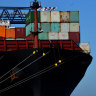 Sydney port workers tested for COVID-19 after infected crew docked at Port Botany
