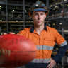 From cleaning coal to draft goal: Smith powers towards AFL dream