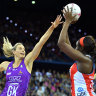 Premier fires first pass at Queensland's new $44 million Netball Centre